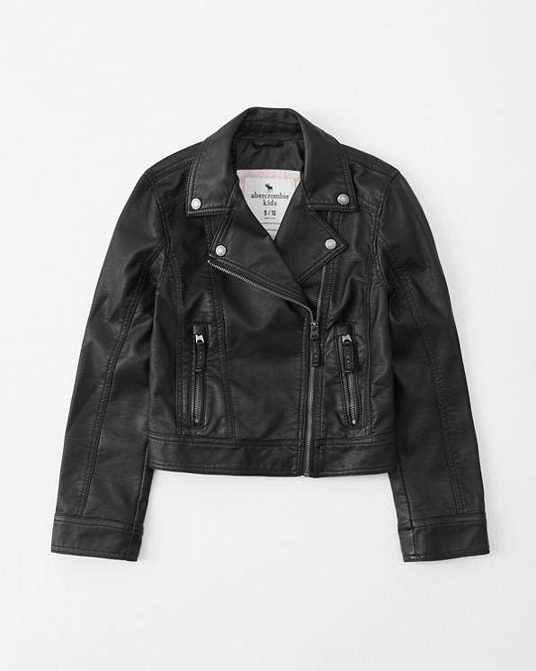finest selection 4293a 9dff2 ragazze giacca da motociclista in ecopelle | ragazze ...