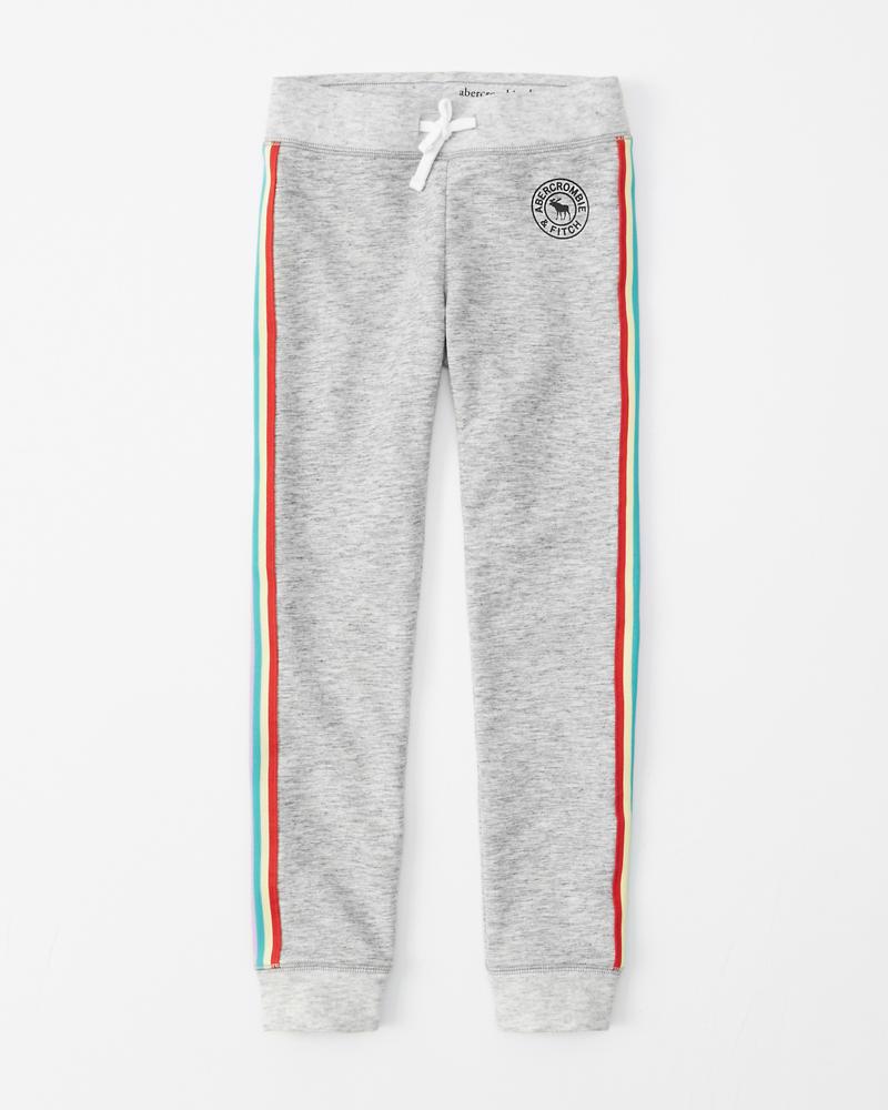3b61c05540b rainbow stripe fleece leggings