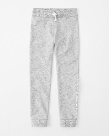 kidslogo fleece leggings