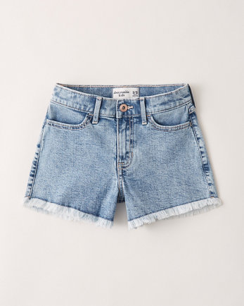 kidshigh rise mini mom shorts