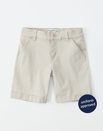 ebc85bc2e2dd girls shorts & skirts | abercrombie kids