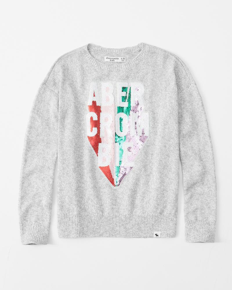 36d135514b girls cozy crewneck sweater