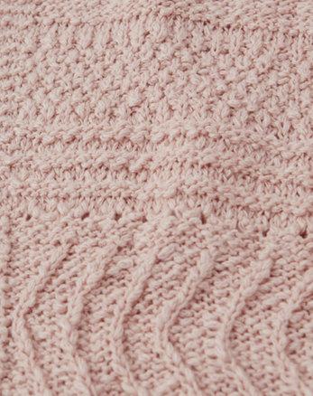 dd3fd8b541cd90 hooded cardigan, pink hooded cardigan, pink, Alternate