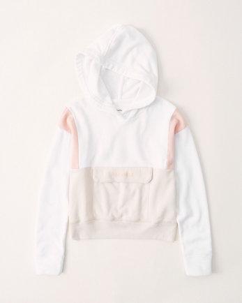 kidssporty logo hoodie