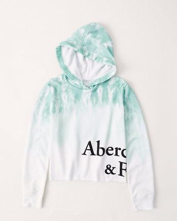 kidstie-dye logo hoodie