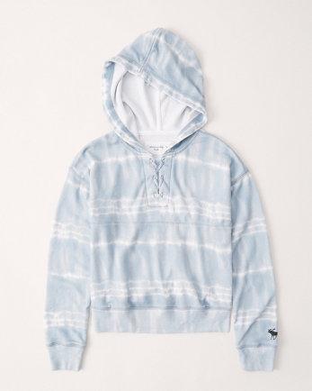 kidslace-up hoodie
