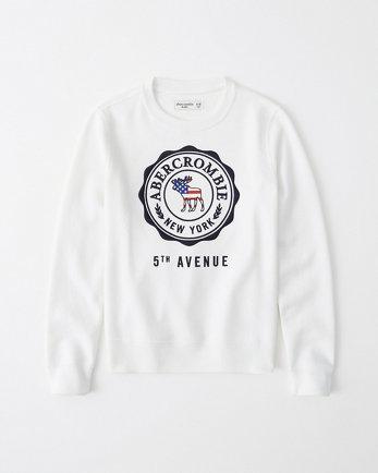 kidsgraphic logo sweatshirt