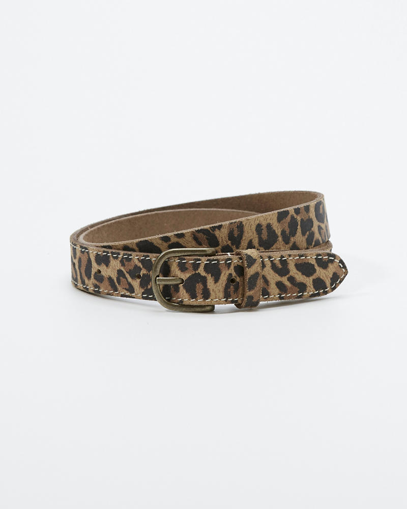 autumn shoes usa cheap sale wide range fille ceinture en cuir léopard   fille accessoires ...
