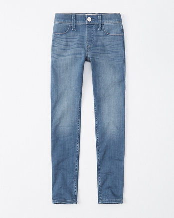 kidsmid rise pull-on jean leggings