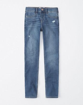 0463a3108514f ripped super skinny jeans, ripped medium wash
