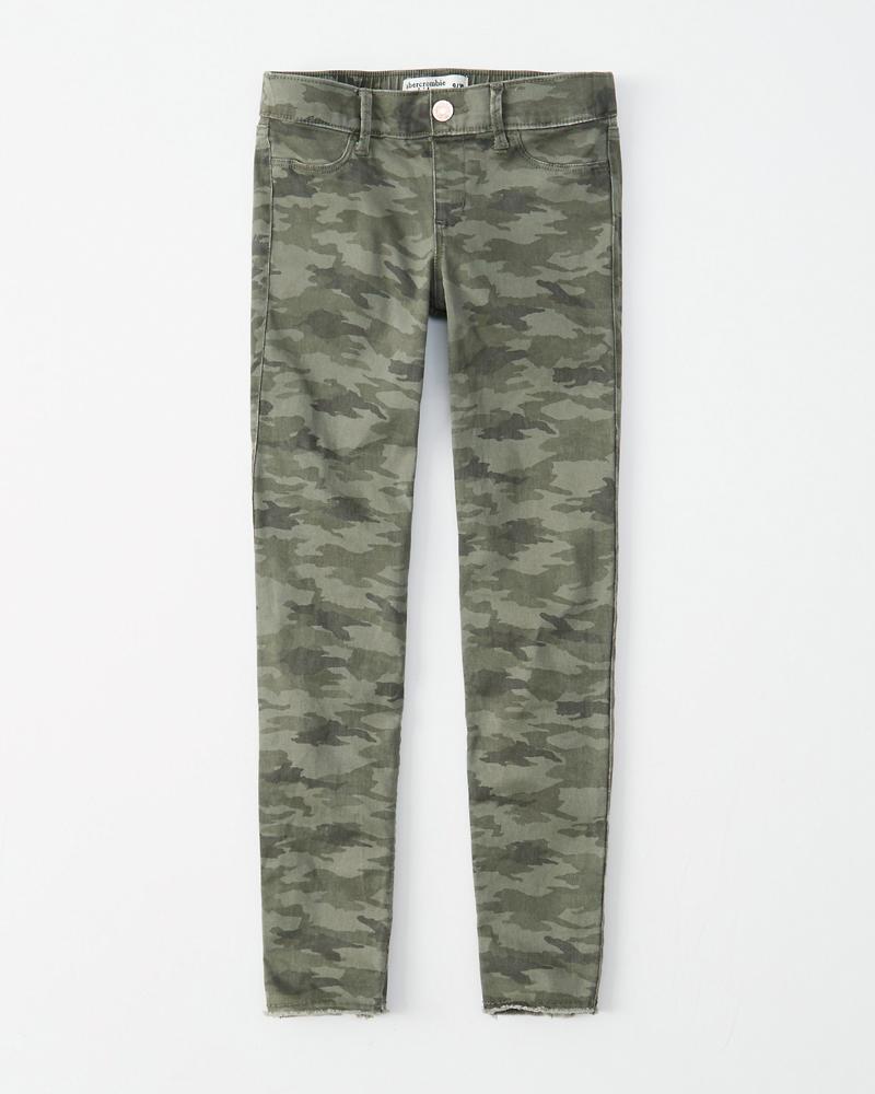 8deba6694216a girls pull-on jean leggings | girls | Abercrombie.com