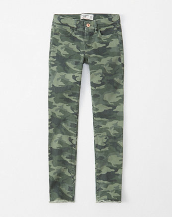jean super skinny camouflage, camouflage olive clair 99d776fa0a4c