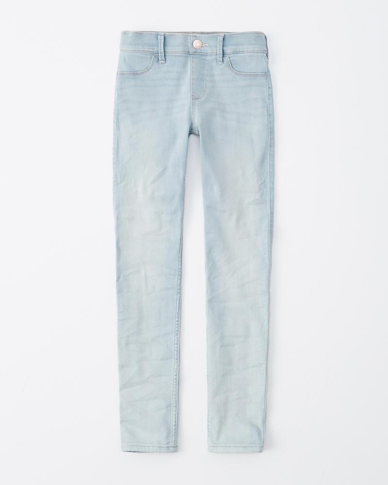 645c572cbcd31 girls pull-on jean leggings | girls bottoms | Abercrombie.com