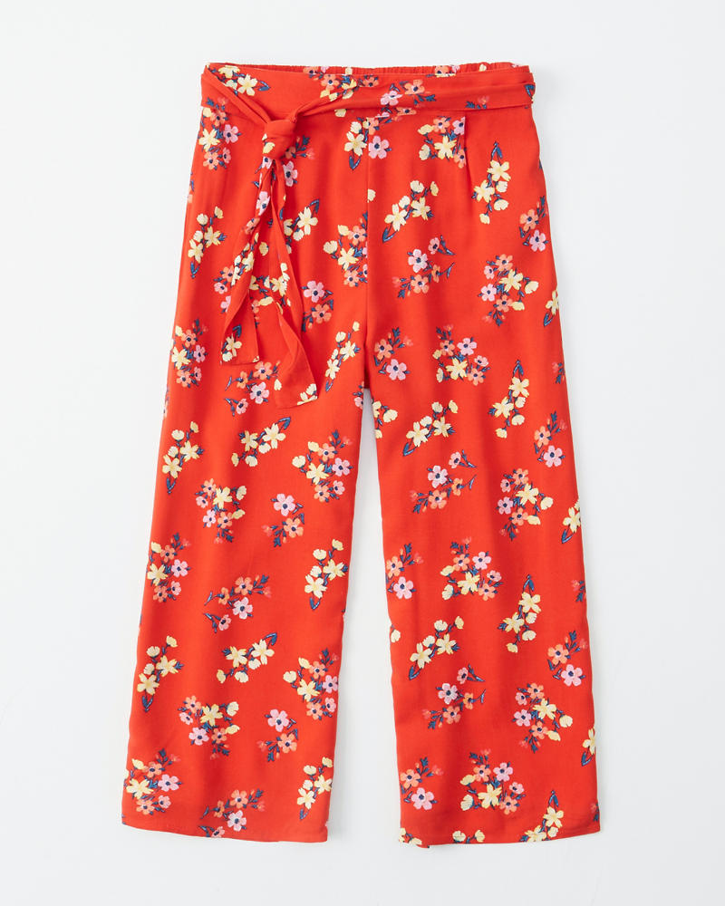 e60452347fa girls cropped wide leg pants