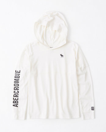 kidslong-sleeve hooded tee