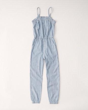 kidssmocked jumpsuit