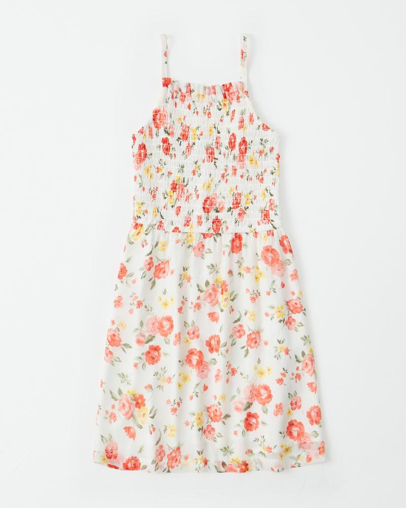 54d8b003f girls smocked floral dress | girls dresses & rompers | Abercrombie.com
