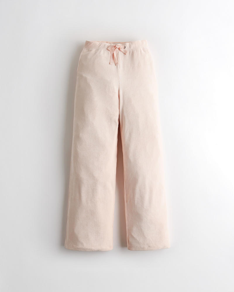 a7ec242ffbed0 Gilly Hicks Velour Wide-Leg Sweatpants