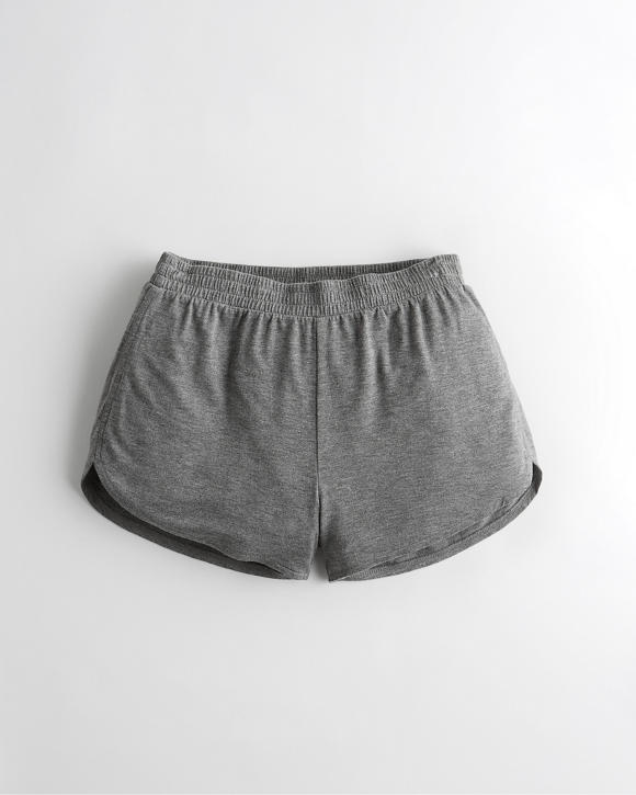 Terry Curved Hem Short by Hollister