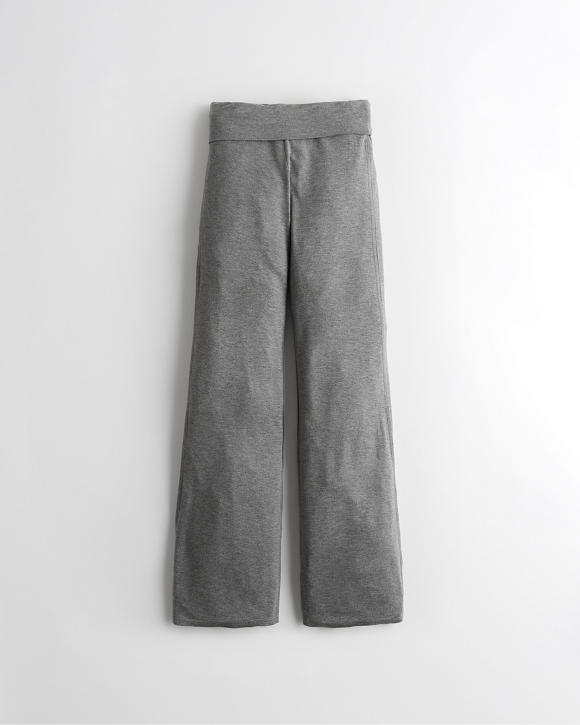 Terry Flare Pants by Hollister