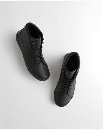 5d7f063fcea214 ... Hollister Sandals Mens  Sherpa-Lined Sneaker Boot