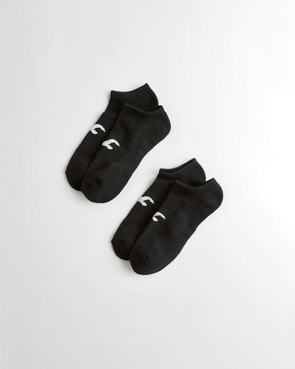Icon Ankle Socks 2 Pack by Hollister