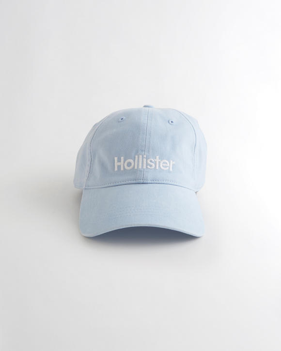 Logo Baseball Hat by Hollister