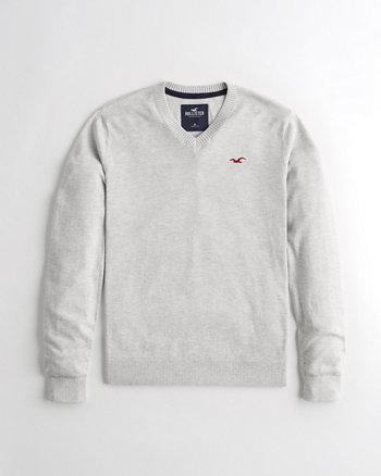 e9172722aa4 V-Neck Sweater