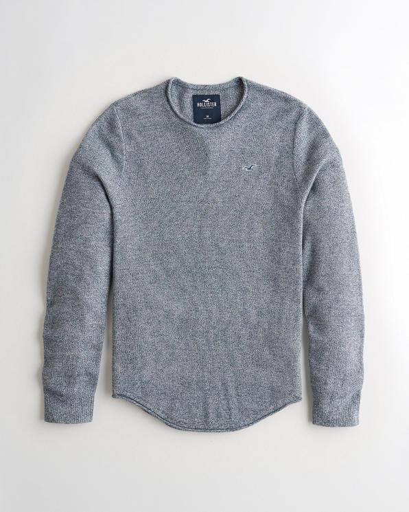 Guys Lightweight Crewneck Sweater | Guys Tops |
