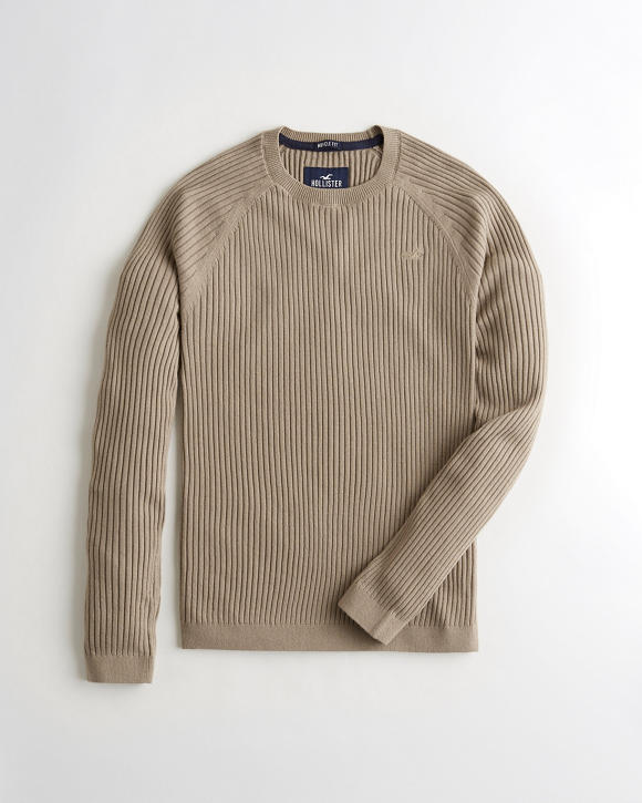 Muscle Fit Sweater by Hollister