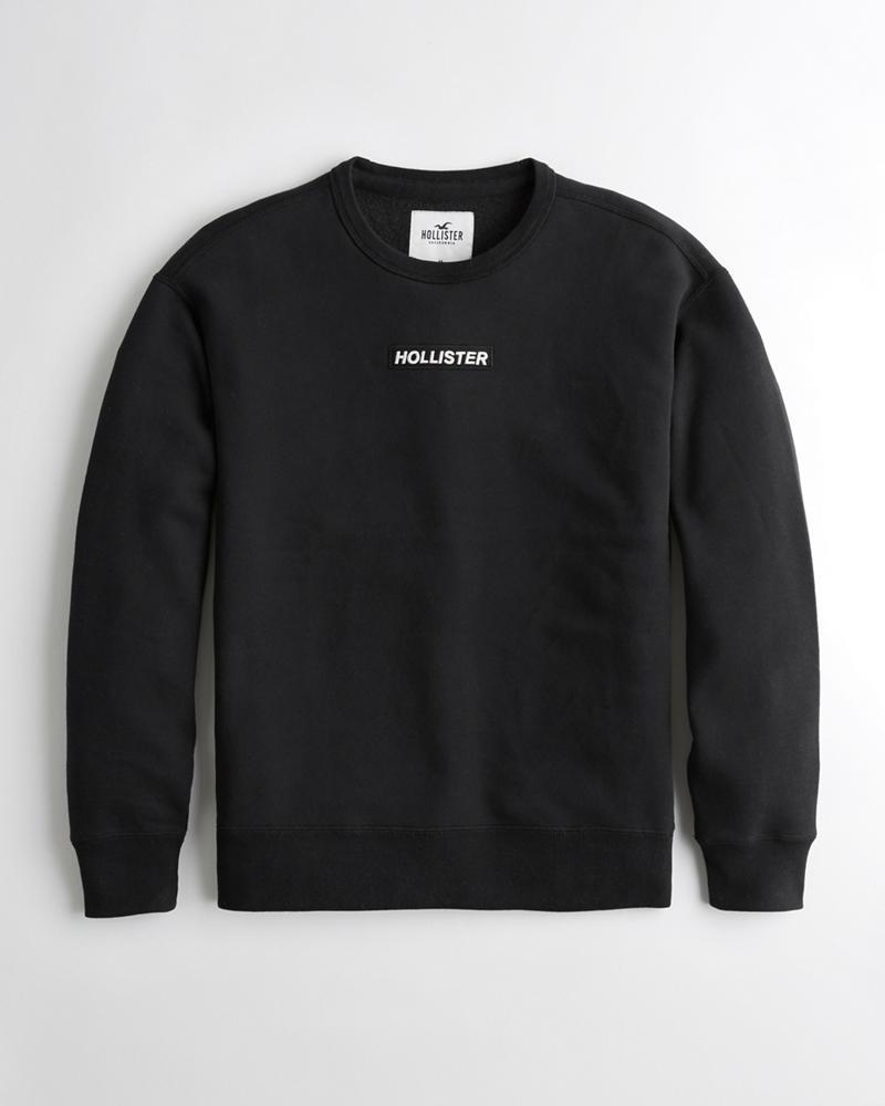 61df8ce0b565 Guys Logo Crewneck Sweatshirt