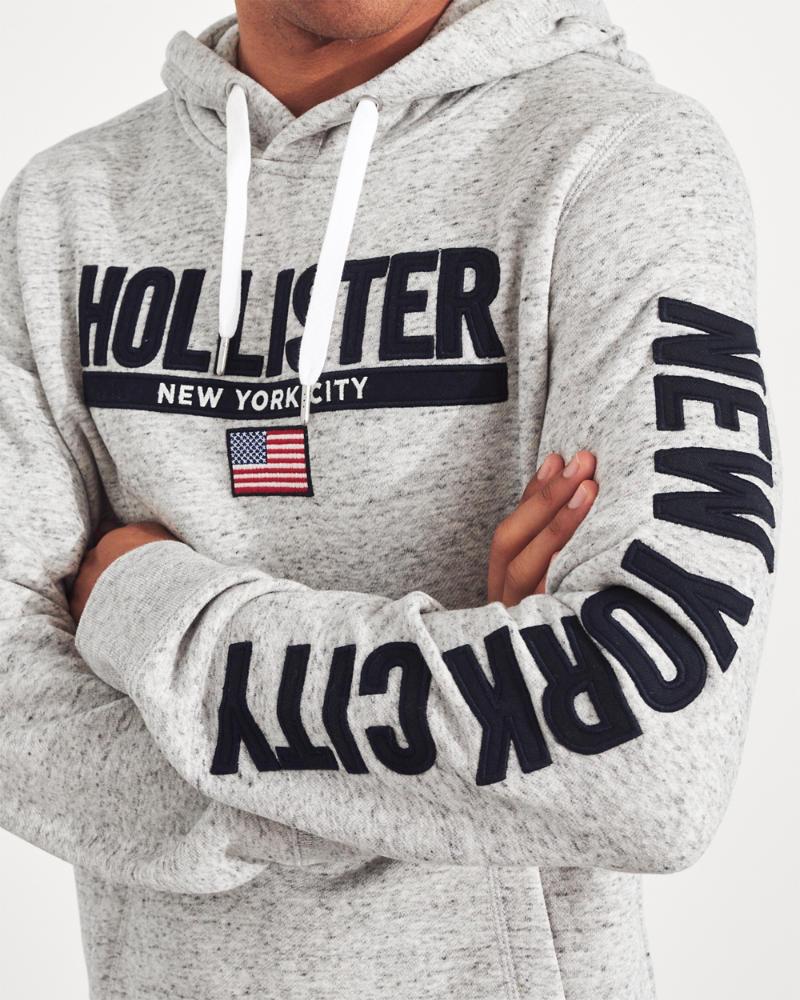 577de268c99 Guys New York City Graphic Hoodie   Guys Tops   HollisterCo.com