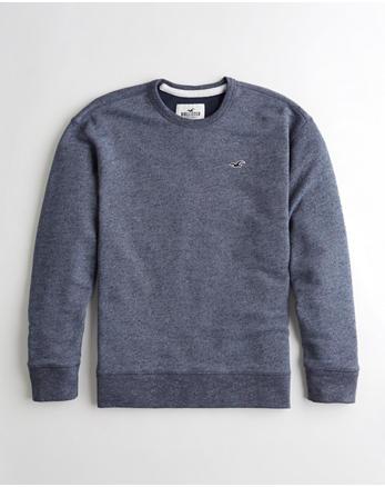 69fa63d27 Crewneck Sweatshirts for Guys | Hollister Co.