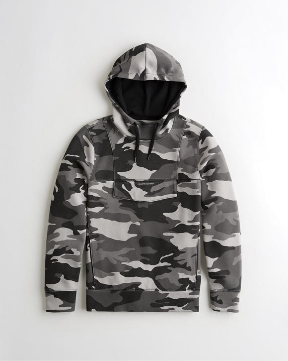 Utility Hoodie by Hollister