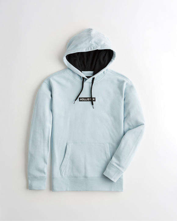 Box Logo Hoodie by Hollister