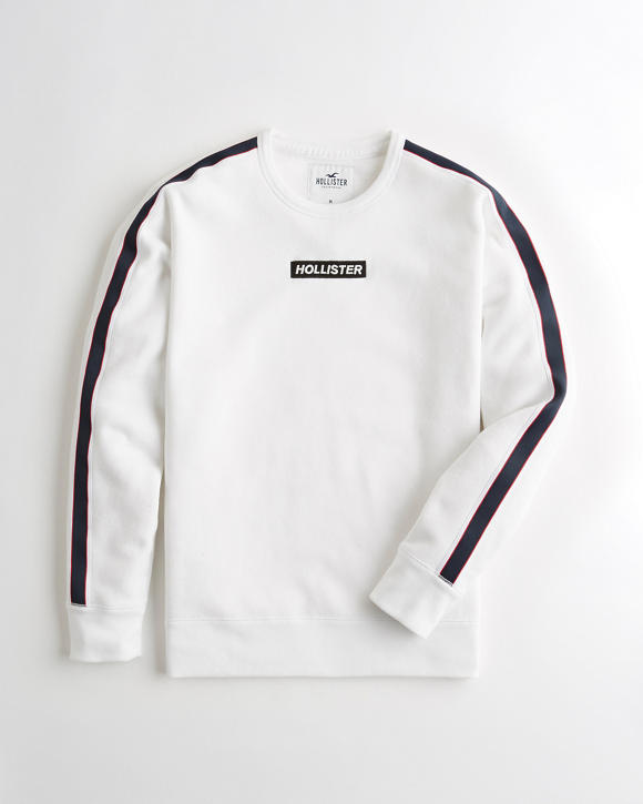 Relaxed Crewneck Sweatshirt by Hollister