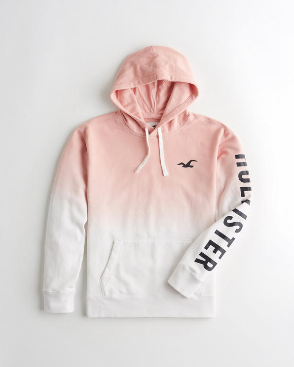 Guys Ombré Logo Graphic Hoodie   Guys Clearance