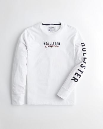 Gars T shirts graphiques   Hollister Co.