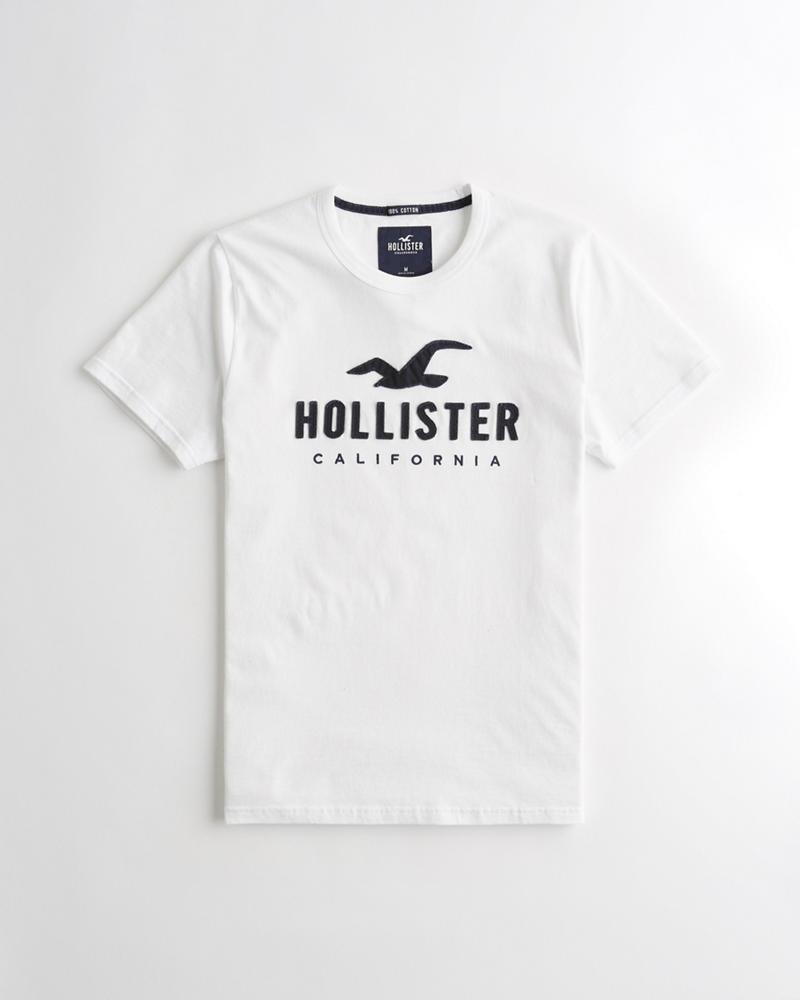 977e728ec Chicos Camiseta con aplicación de gráfico de logo