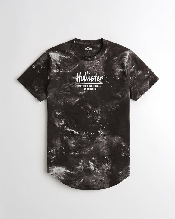 Logo Graphic Tee by Hollister