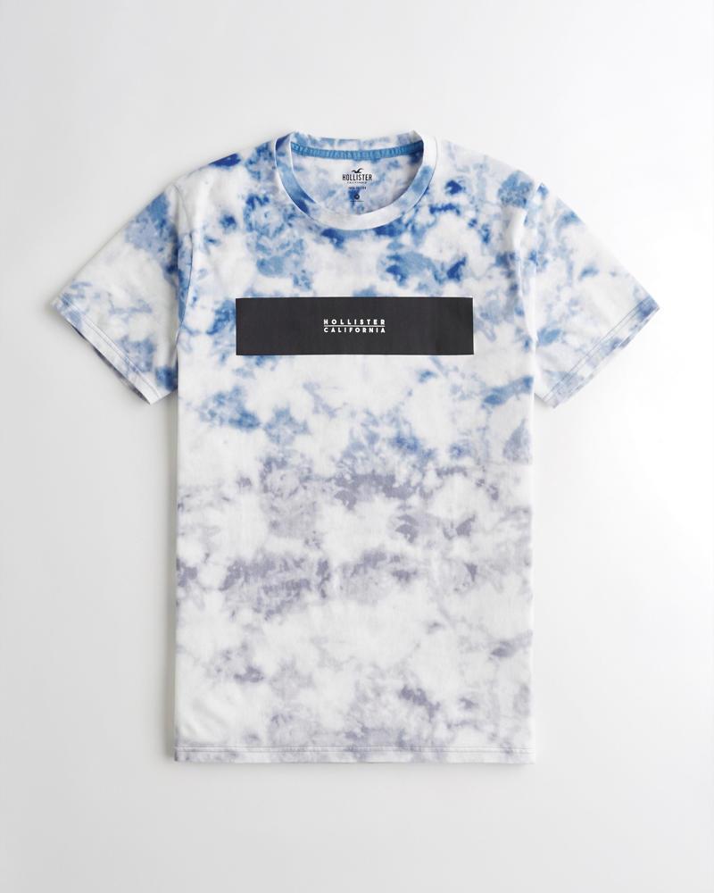 Gars Shirt DyeRéduction T Imprimé And Graphique Tie 0ONXZ8Pnwk