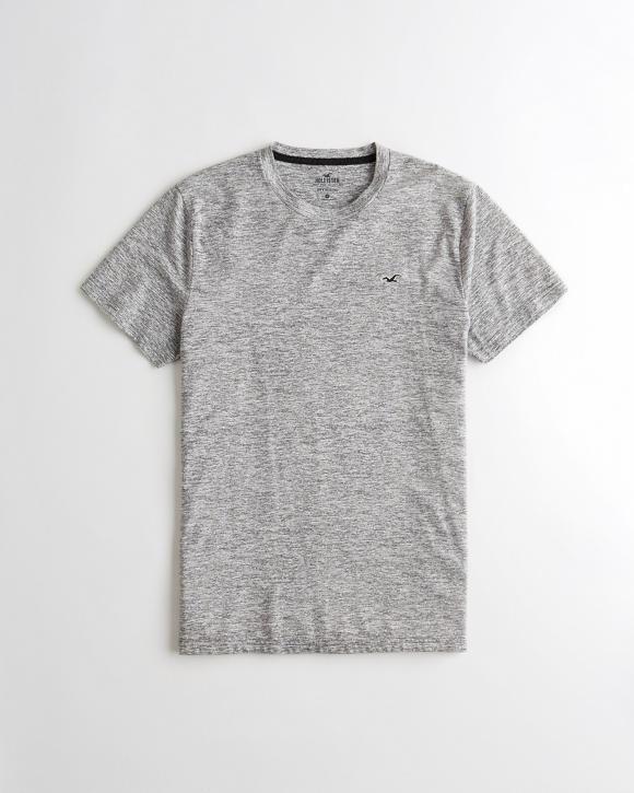 Must Have Crewneck T Shirt Heather Grey