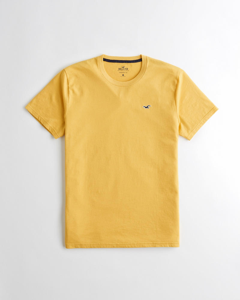 8ab910f023 Guys Camiseta Infaltable con cuello redondo