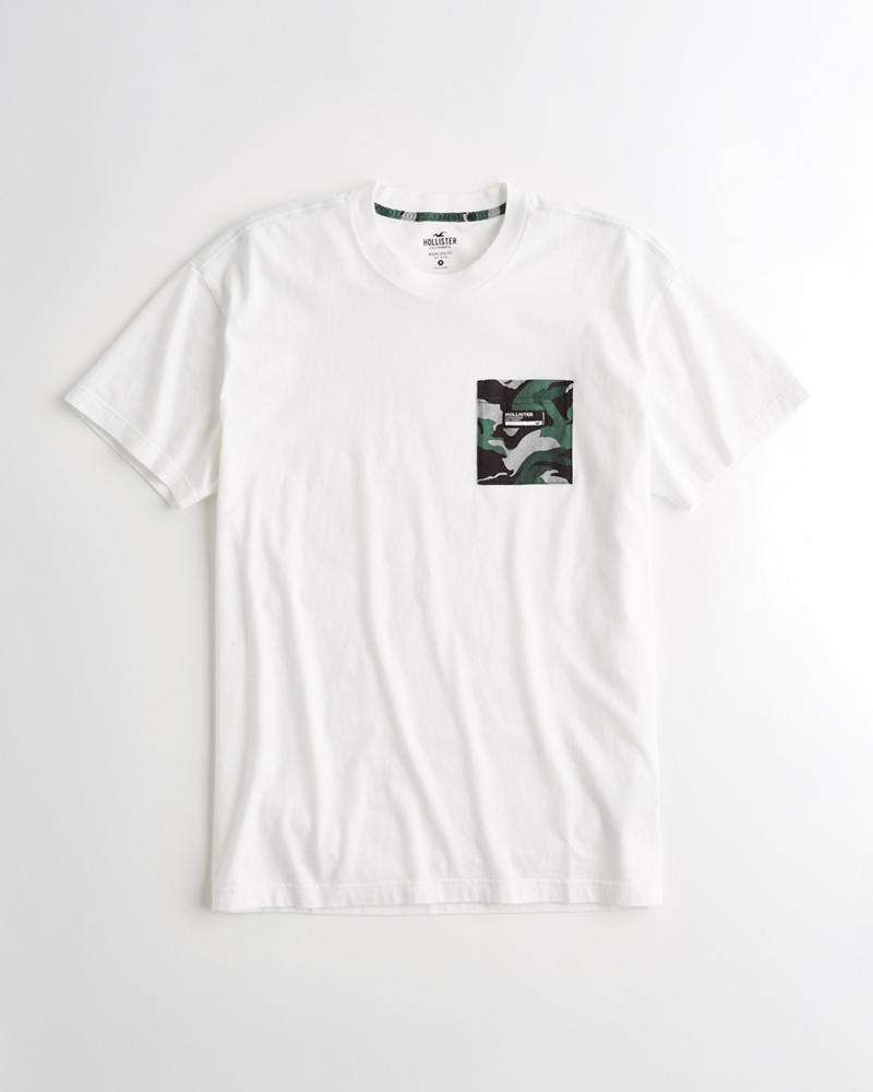 0ce87907ae5e White T Shirt With Camo Pocket – EDGE Engineering and Consulting Limited
