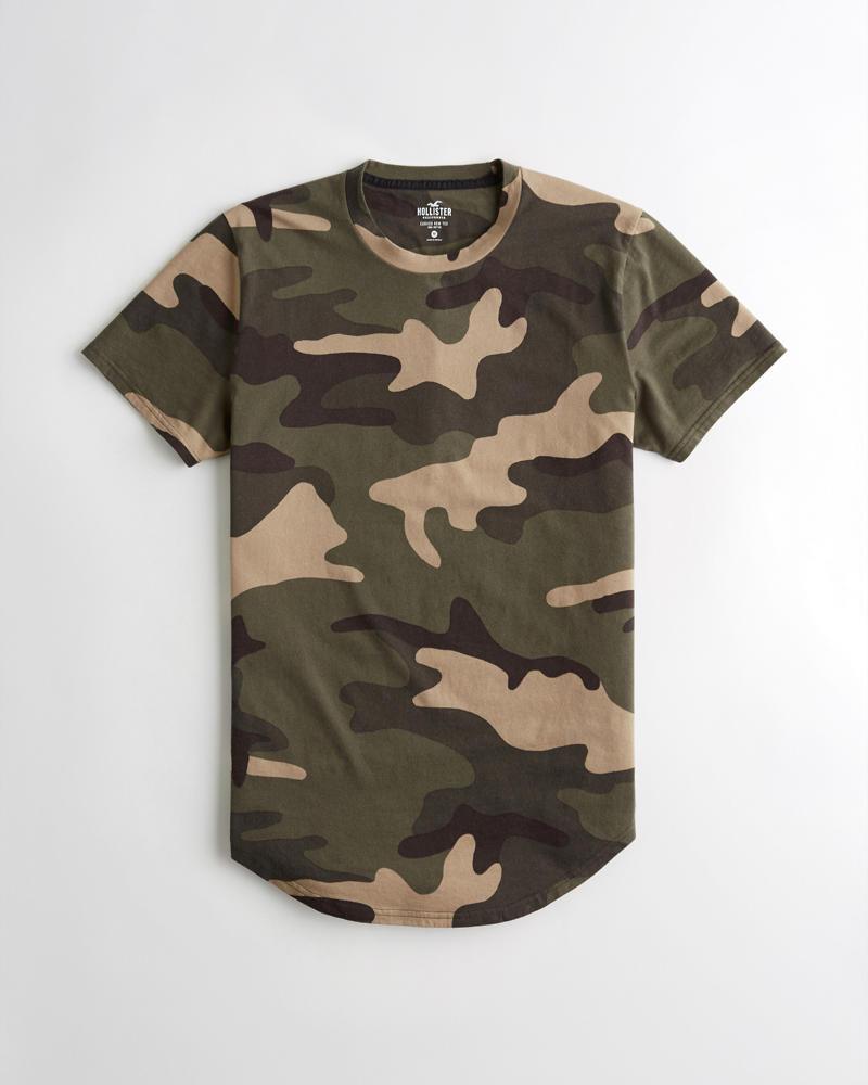 cf7e0004 Guys Curved Hem T-Shirt | Guys Tops | HollisterCo.com
