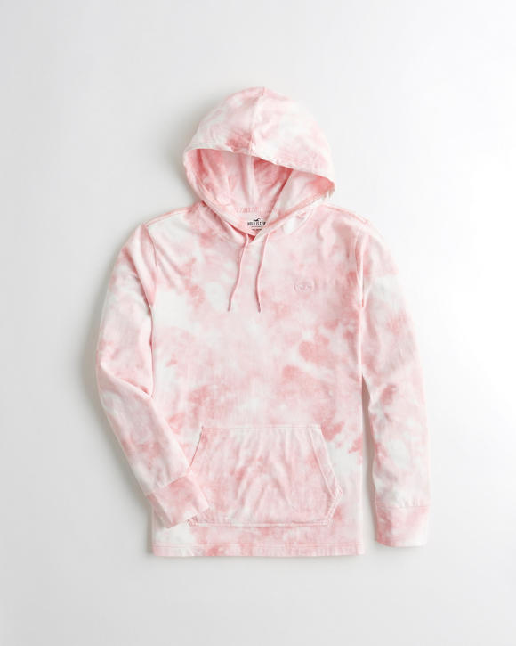 Tie Dye Hooded T Shirt by Hollister