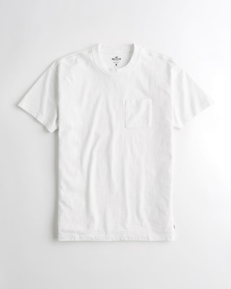 7177bf77eb Guys Oversized Pocket T-Shirt | Guys Tops | HollisterCo.com