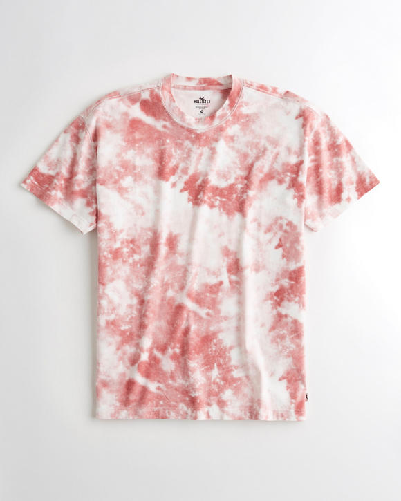 Oversized Tie Dye T Shirt by Hollister