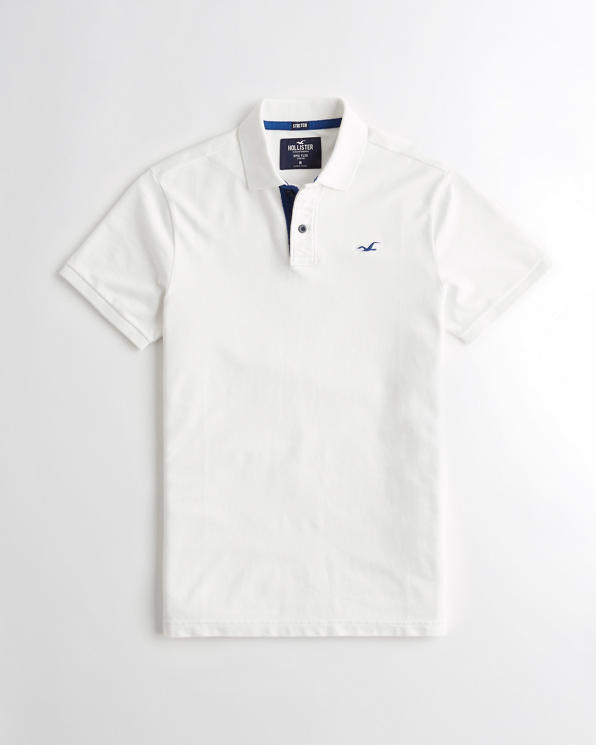 More Styles Available Limited Too Girls Polo Shirt 7//8 Classic White