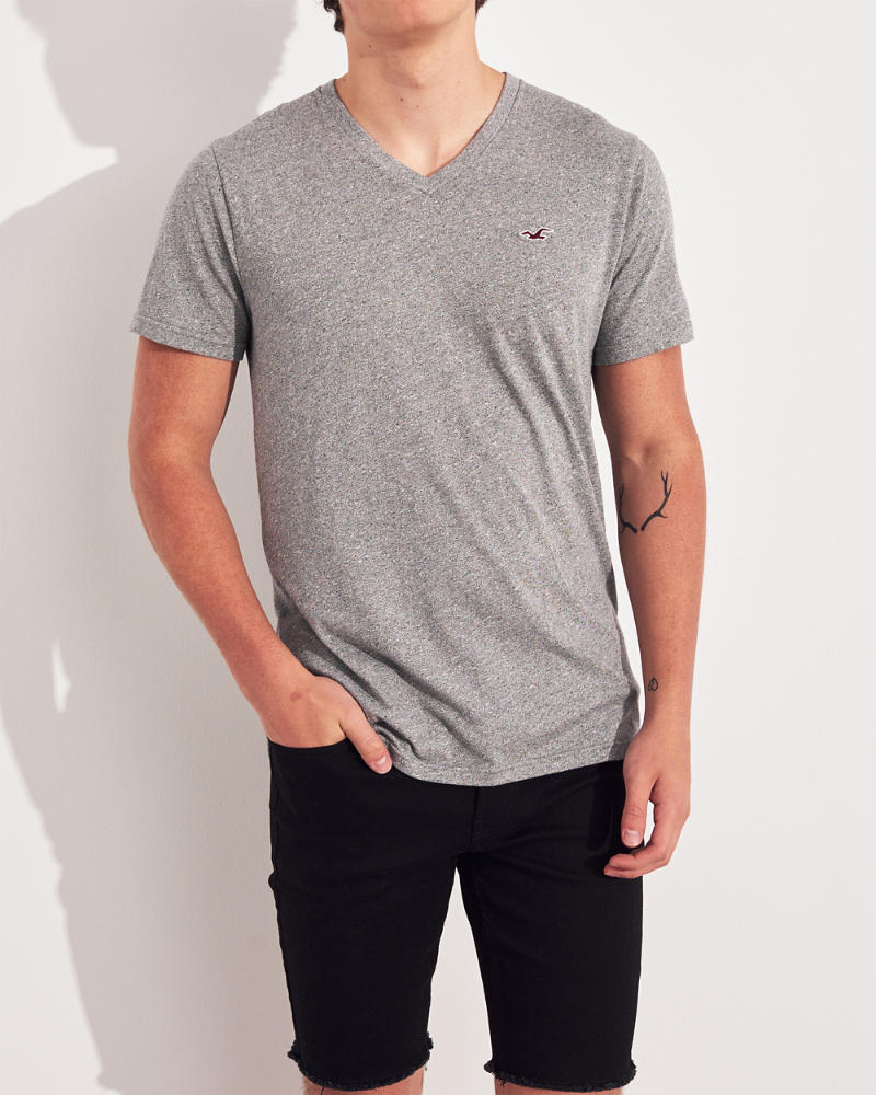 16eb95eae57 Guys Must-Have V-Neck T-Shirt 3-Pack | Guys Tops | HollisterCo.com